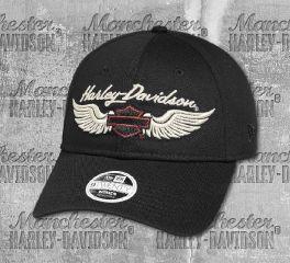 Harley-Davidson® Embroidered Winged Logo Cap 97725-19VW