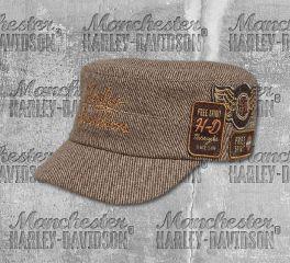 Harley-Davidson® Multi-Patch Flat Top Cap 97719-19VW