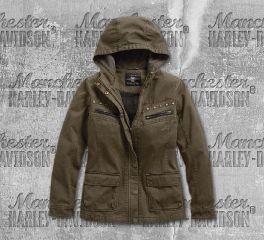 Harley-Davidson® Over-Dyed Hooded Jacket 97478-19VW