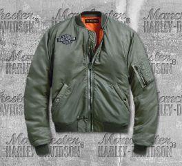 Harley-Davidson® Winged Logo Bomber Jacket 97477-19VW