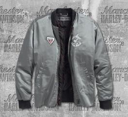 Harley-Davidson® Satin Bomber Jacket 97475-19VW
