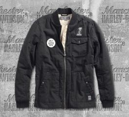Harley-Davidson® Quilted Canvas Slim Fit Jacket 97472-19VM