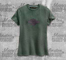 Harley-Davidson® Embroidered Logo Tee 96622-19VW