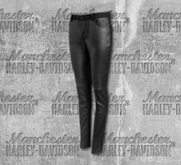Harley-Davidson® Stretch Leather Skinny Pants 96609-19VW