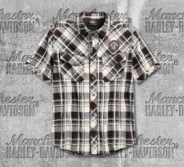 Harley-Davidson® Performance Vented Plaid Shirt 96548-19VM