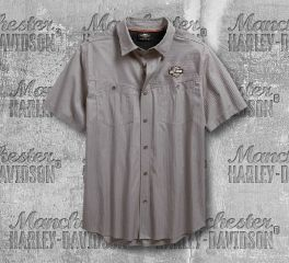 Harley-Davidson® Performance Vented Textured Shirt 96547-19VM
