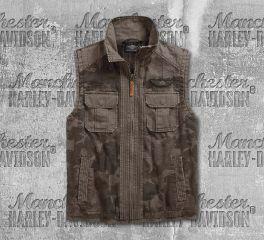 Harley-Davidson® Printed Camo Utility Vest 96537-19VM