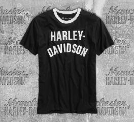Harley-Davidson® Slim Fit Ringer Tee 96536-19VM