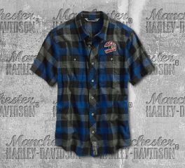 Harley-Davidson® 03 Plaid Slim Fit Shirt 96531-19VM