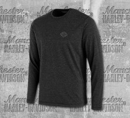 Harley-Davidson® Merino Wool Hollow Yarn Slim Fit Tee 96518-19VM