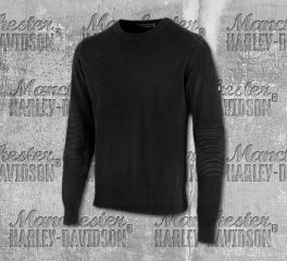Harley-Davidson® Wool Blend Slim Fit Sweater 96508-19VM