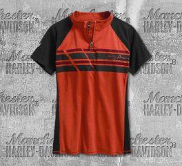 Harley-Davidson® Performance Mock Neck Top 96349-19VW