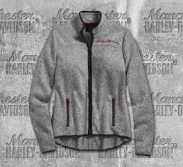 Harley-Davidson® Sweater Fleece Jacket 96344-19VW
