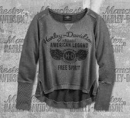 Harley-Davidson® American Legend Pullover Sweatshirt 96338-19VW