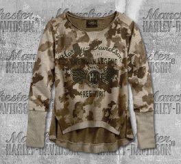 Harley-Davidson® Camo Pullover Sweatshirt 96335-19VW