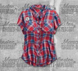 Harley-Davidson® Better On A Harley Plaid Shirt 96329-19VW
