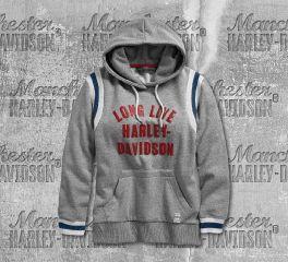 Harley-Davidson® Long Live Collegiate Pullover Hoodie 96327-19VW