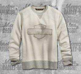 Harley-Davidson® Stud Logo Pullover Sweatshirt 96322-19VW