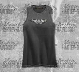 Harley-Davidson® Studded Wing Muscle Tee 99277-19VW