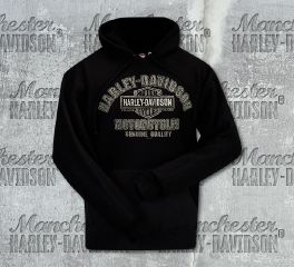 Harley-Davidson® Men's Black Quality Name Sweater, RK Stratman Inc. R002323