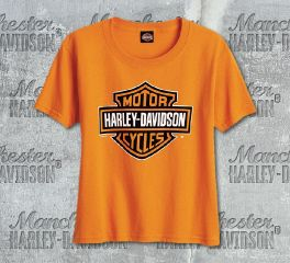 Harley-Davidson® Boys Bar & Shield® Short Sleeve Tee, RK Stratman Inc. R002672