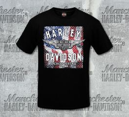 Harley-Davidson® Men's Black Diamond Daze Short Sleeve Tee, RK Stratman Inc. R002891