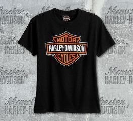 Harley-Davidson® Boys Black Bar & Shield® Short Sleeve Tee, RK Stratman Inc. R302099930