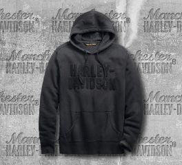 Harley-Davidson® Felt Lettering Slim Fit Pullover Hoodie 99273-19VM