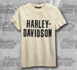Harley-Davidson® Jersey Appliqué Logo Slim Fit Tee 99271-19VM