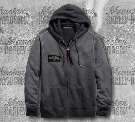Harley-Davidson® Oak Leaf Slim Fit Hoodie 99269-19VM