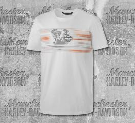 Harley-Davidson® Layered Print Slim Fit Tee 99173-19VM
