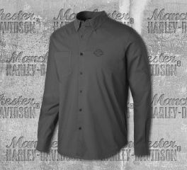 Harley-Davidson® Stretch Long Sleeve Slim Fit Shirt 99150-19VM