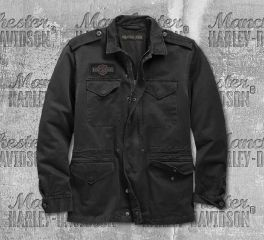 Harley-Davidson® Logo Slim Fit Field Jacket 98594-19VM