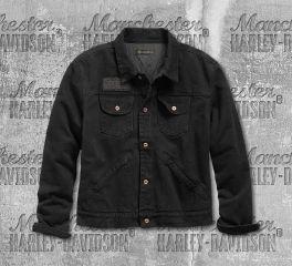 Harley-Davidson® Overdyed Slim Fit Denim Jacket 98403-19VM