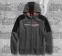 Harley-Davidson® Shoulder Accent Hoodie 96118-18VM