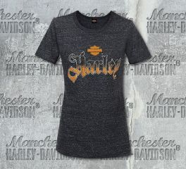 Harley-Davidson® Women's Confection Short Sleeve Tee, RK Stratman Inc. R002868