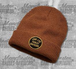 Harley-Davidson® Men's Long Live Cuffed Knit Hat 97797-19VM
