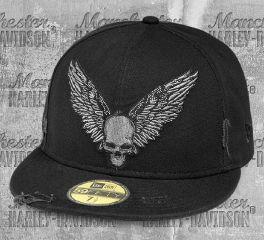 Harley-Davidson® Men's Winged Skull 59FIFTY® Baseball Cap 97781-19VM