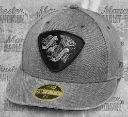 Harley-Davidson® Men's Distressed Denim 59FIFTY® Baseball Cap 97780-19VM