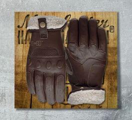 Harley-Davidson® Men's Brown Trently Leather Gloves 97139-19EM