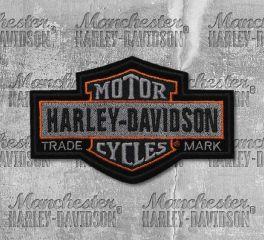 Harley-Davidson® Large Nostalgic Bar & Shield® Embroidered Patch, Global Products, Inc. EM313754