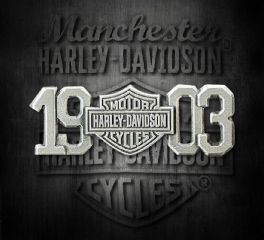 Harley-Davidson® 1903 Bar & Shield® Antiqued Silver Finish Pin, Global Products, Inc. P238063