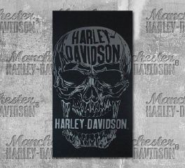 Harley-Davidson® Decomposed Skull Black Multifunctional Headwear, Global Products, Inc. MHW24930