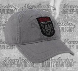 Harley-Davidson® Men's Forged Woven Patch Baseball Cap, Global Products, Inc. BCC31954