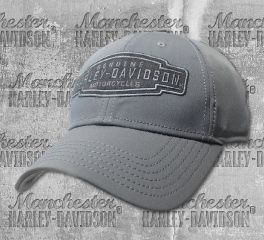 Harley-Davidson® Men's Velocity Embroidered Baseball Cap, Global Products, Inc. BCC31454