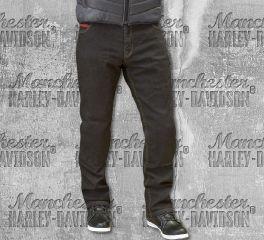 Route One Men's Black Blake Stretch Denim Jeans, Merlin DNM019