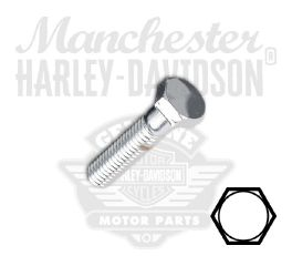 "Chrome 3/8""-16 X 1-1/2"" UNC Hex Head Screw"