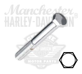 "Chrome 3/8""-16 x 3"" UNC Hex Head Screw"