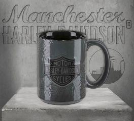 Harley-Davidson® Sculpted Tire Tread Coffee Mug HDX-98614