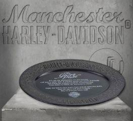 Harley-Davidson® Custom Ceramic Tire Tread Pattern Giving Plate HDX-99111